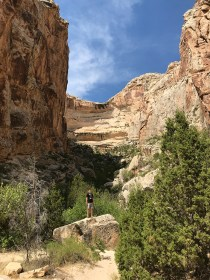 Carter Bourn On The Box Canyon Trail In Dinosaur National Monument
