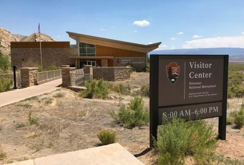 Dinosaur National Monument Visitor Center In Vernal, Utah