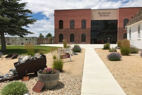 Entrance to the Humbolt Museum in Winnemucca