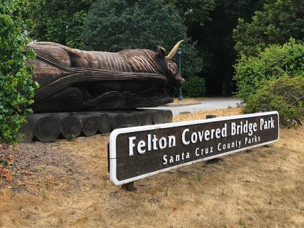 Felton Covered Bridge Park in Santa Cruz County