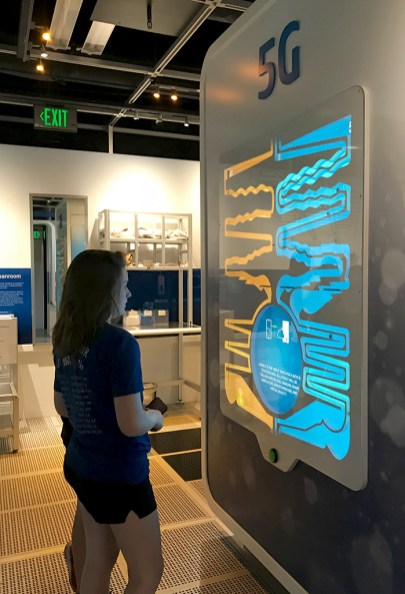 Interactive Exhibits at the Free Intel Experience