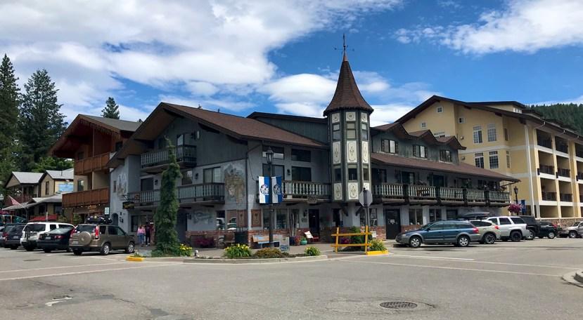 Leavenworth, Washington Bavarian-themed Buildings