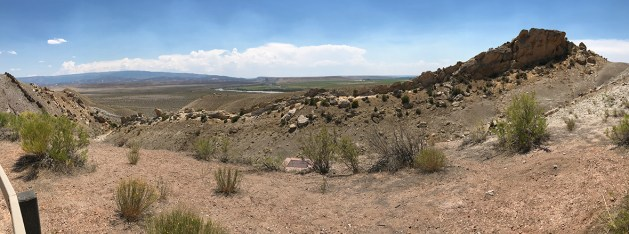 Panoramic View Of The Cub Creek Valley