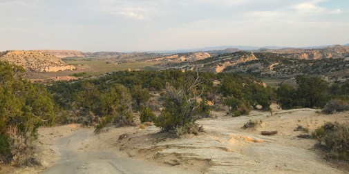 Panoramic View From The Moonshine Arch Trail