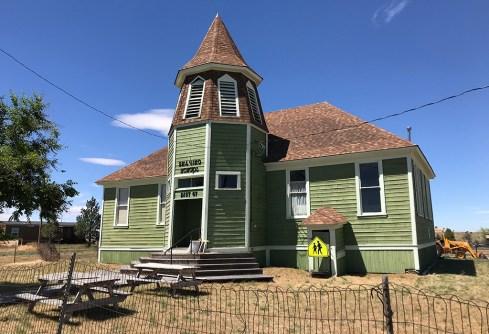 Refurbished Schoolhouse in SHaniko, Oregon