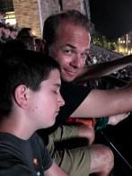 Sleepy Kids At Concert