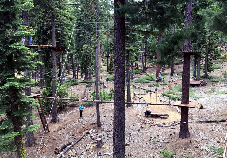 Tahoe City Ropes Course and Zipline at Granlibakken