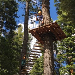 Tahoe City Ropes Course For Families