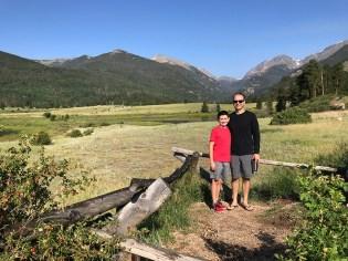Carter and Brian Bourn at Sheep Lakes