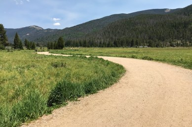 Half Mile Dirt Trail to the Holzwarth Historic Site