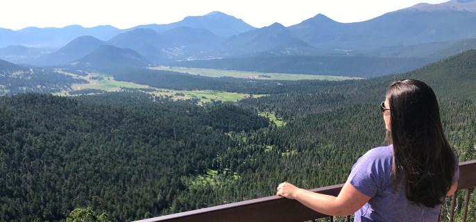 Jennifer Bourn at Many Parks Curve Overlook