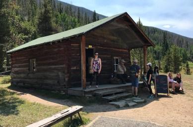 Joseph Fleshuts Miners Cabin