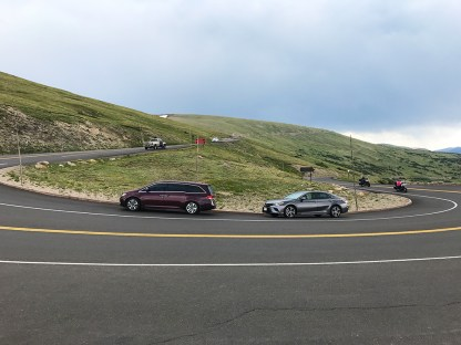 Medicine Bow Hairpin Turn on Trail Ridge Road in Rocky Mountain National Park