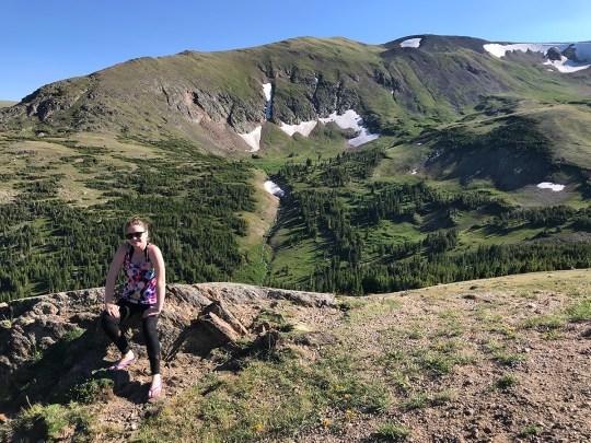 Natalie Bourn Exploring Old Fall River Road
