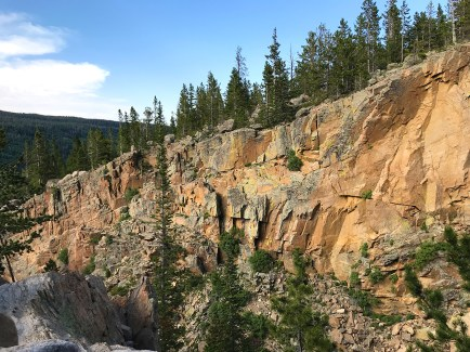 Ridge Ledge Along Glacier Gorge