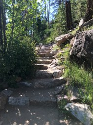 Stone Staircase on the Chasm Falls Trail