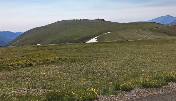 Trail Ridge Road Alpine Tundra