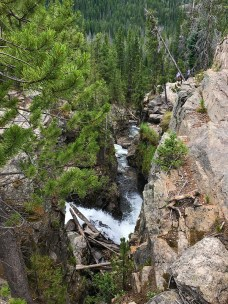View From The Top of Adams Falls