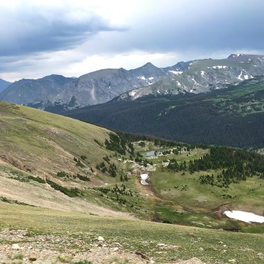 View from the Gore Range Overlook