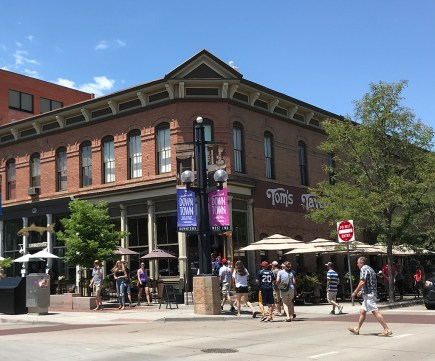 Boulder Pearl Street Mall Buildings