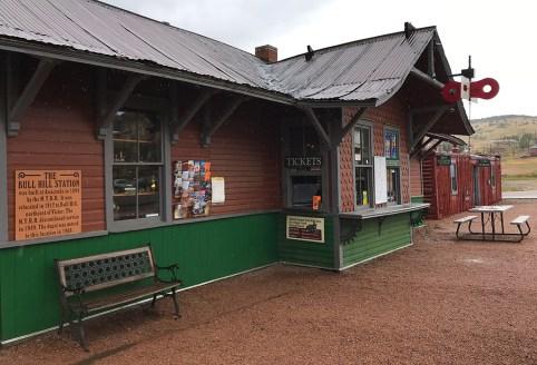 Bull Hill Station at the Cripple Creek Railroad