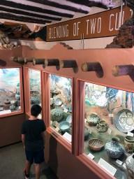 Carter Bourn Browsing Museum Exhibits
