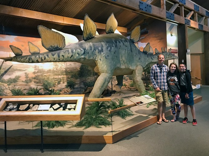 Dinosaurs at the Cripple Creek Heritage Center