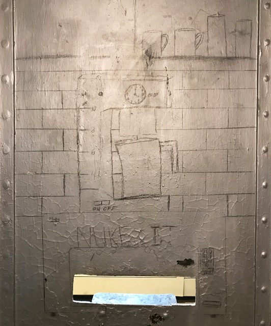 Drawings Inside a Cripple Creek Jail Cell