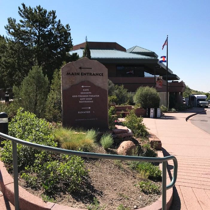 Garden Of The Gods Visitor Center Entrance