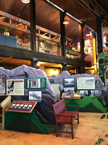 Inside the Cripple Creek Heritage Center