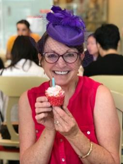 Linda Brannan Birthday Cupcake