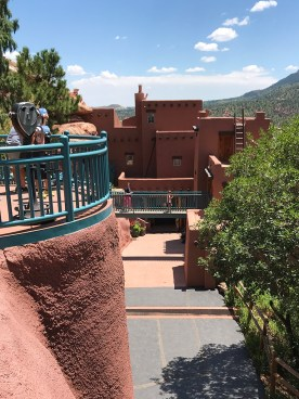 Museum and Gift Shop at the Manitou Cliff Dwellings