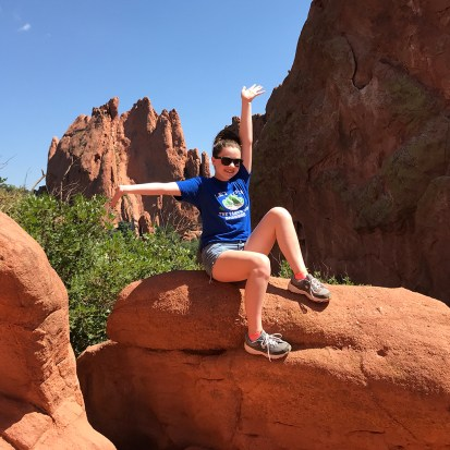 Natalie Bourn Colorado Red Rocks