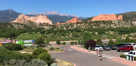View of Garden Of The Gods From The Visitor Center Overlook