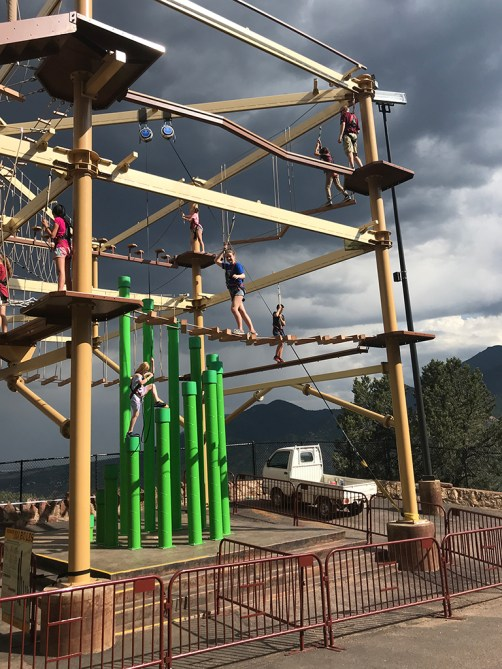 Ropes Course At Williams Canyon