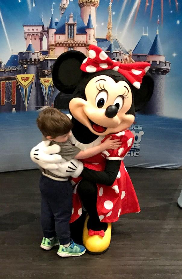 Bennett Hugging Minnie