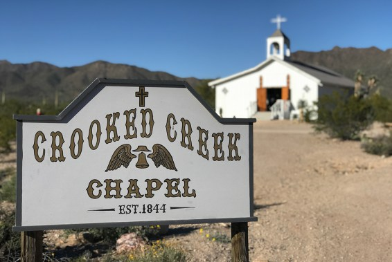 Crooked Creek Chapel at Old Tucson