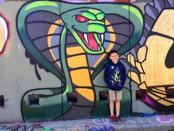 Graffiti in Abandoned Trail Tunnels