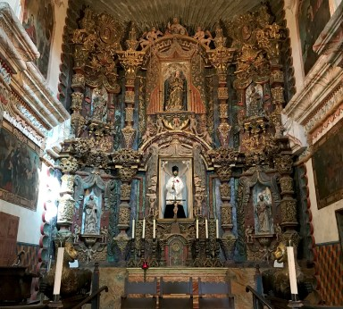 Mission San Xavier Church Sanctuary