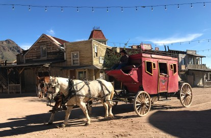 Stagecoach Rides at Old Tucson