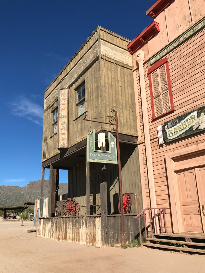 Wild West Town in Tucson