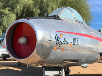 Vintage Aircraft Museum in Tuscon