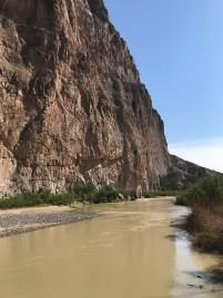 Boquillas Canyon and the Rio Grande River
