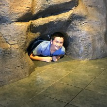 Carter Bourn at the Carlsbad Caverns Visitor Center