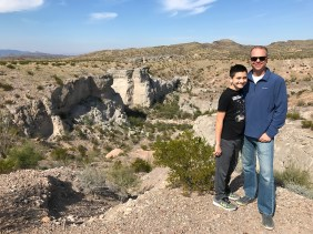 Carter and Brian Bourn At Tuff Canyon