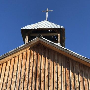 Church Steeple in Terlingua
