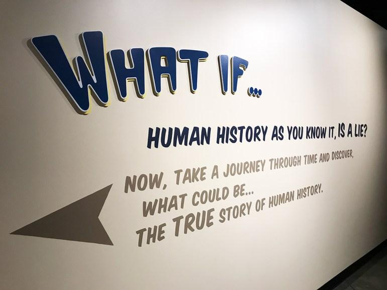 Human History Alien Story