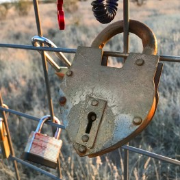Lock at Prada Marfa