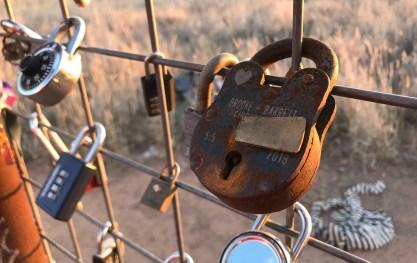 Prada Marfa Locks