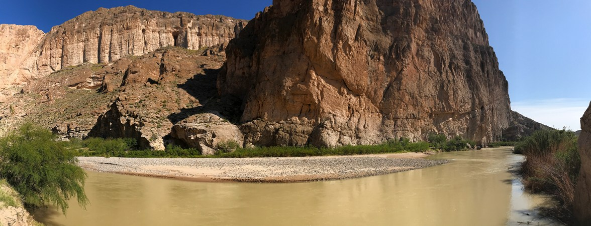 The Rio Grande in Boquillas Canyon
